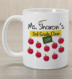 Personalized Teachers Class Teacher Mug