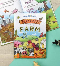 Personalized My Day The Farm Book