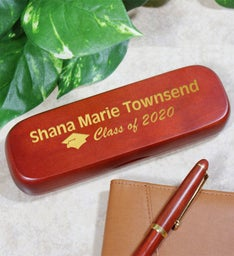 Personalized Graduation Rosewood Pen Set