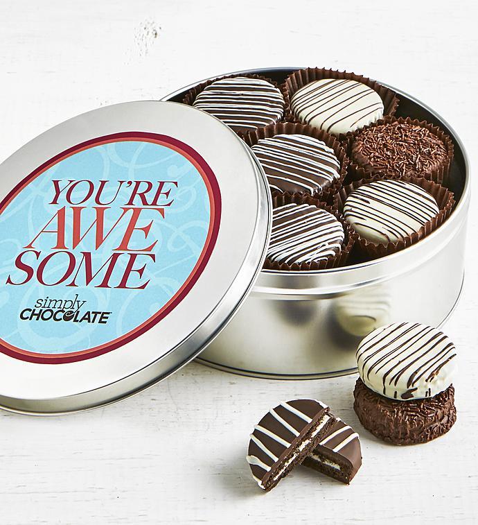 Simply Chocolate You're Awesome! OREO® Tin