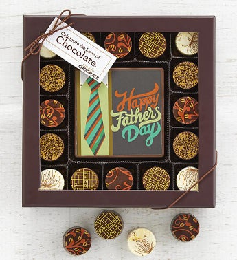 Simply Chocolate Fathers Day Bar  Truffles