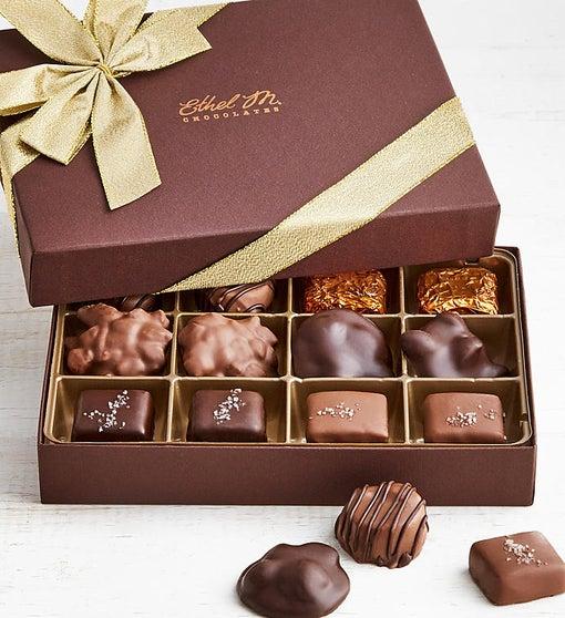 Ethel M Chocolates Nuts & Caramels 12pc