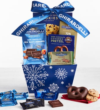 Ghirardellis Best Sweets Basket
