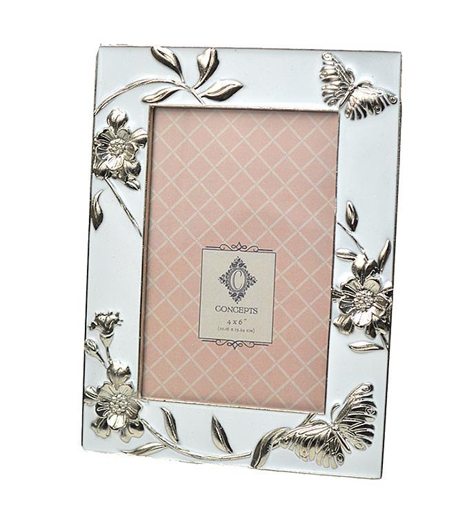 Butterfly & Flowers Frame