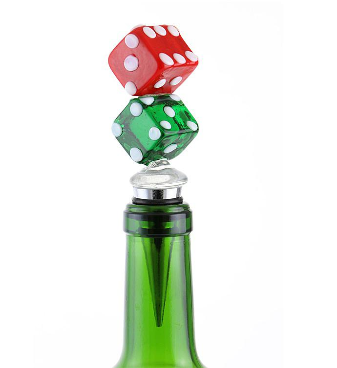 Dice Bottle Stopper