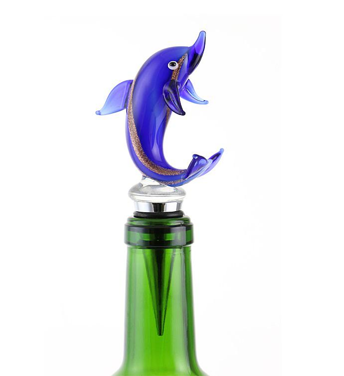 Dolphin Bottle Stopper