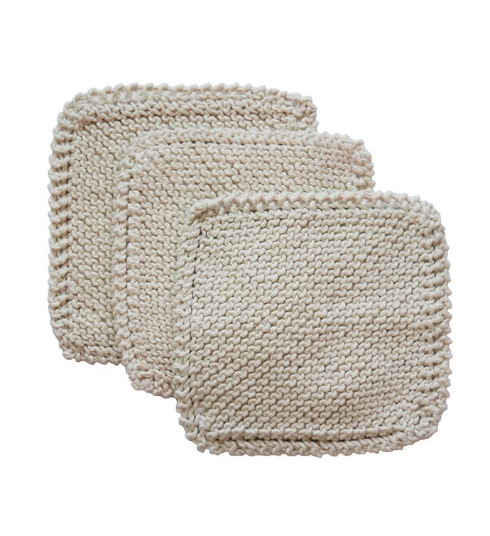 Knit Dish Cloth