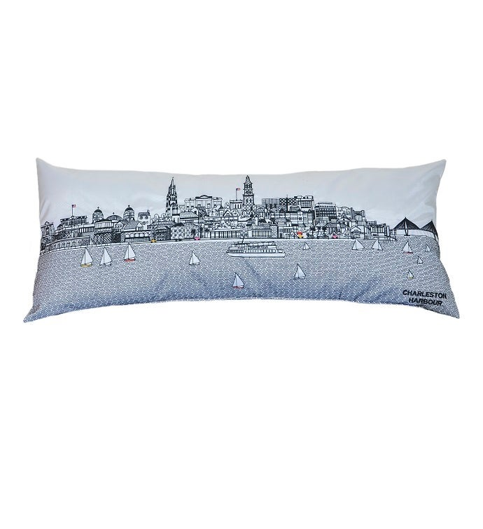 Cityscape Outdoor Pillow - Day