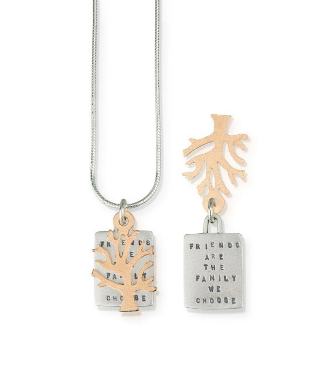 Friends Are Family Necklace