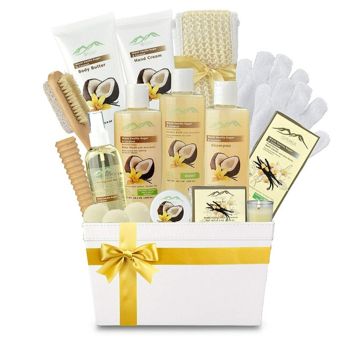 XL Sandalwood Vanilla Spa Basket