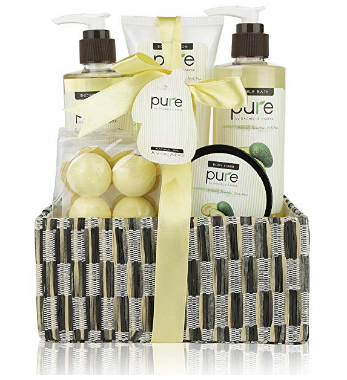 Avocado Oil Spa Gift Basket