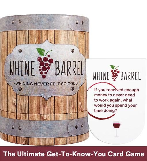 Whine Barrel : Conversation Card Game