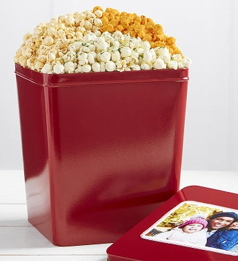 3 Gallon Zesty Trio 3 Flavor Popcorn Tin