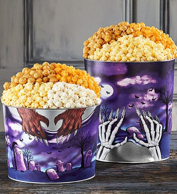 RIP Rest In Popcorn Popcorn Tins