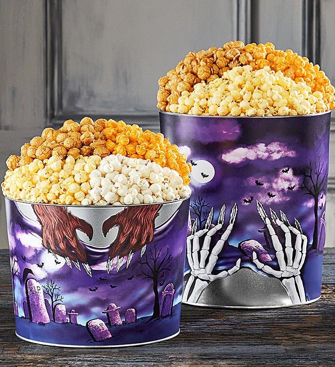 R.I.P. (Rest In Popcorn) Popcorn Tins