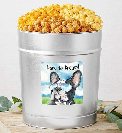 Dare to Dream Popcorn Tins