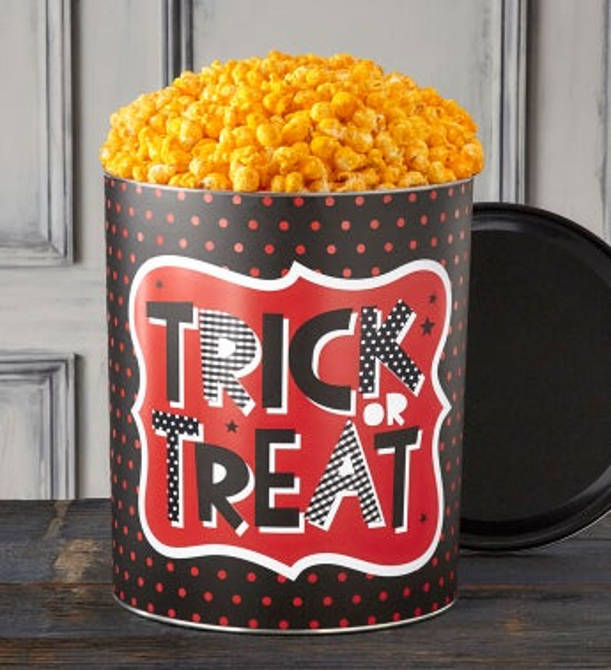 Trick Or Treat 3 1/2 Gallon Popcorn Tins