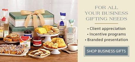 For all your business gifting needs. Client appreciation | Incentive programs | Branded presentation. Shop Business Gifts.