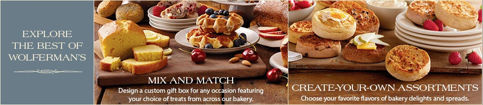 Mix and Match. Create your perfect assortment of goodies and customize for any occasion
