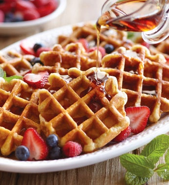 Create-Your-Own Belgian Waffles - 12 Packages