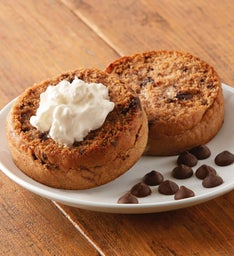 Chocolate Chip Super-Thick English Muffins