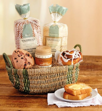 Bakery gift basket negle Image collections