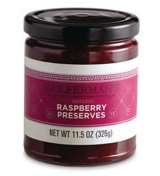 Seedless Raspberry Preserves (11.5 oz.)