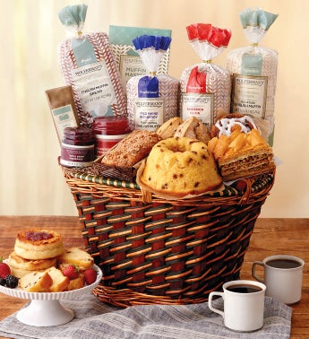 Breakfast Entertainer Basket