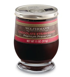 Chocolate Strawberry Preserves (11 oz.)