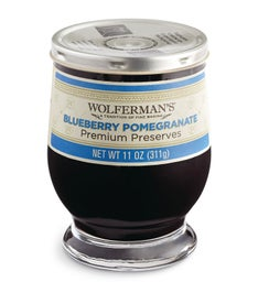 Blueberry Pomegranate Preserves (11 oz)