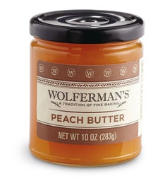 Peach Fruit Butter (10 oz)