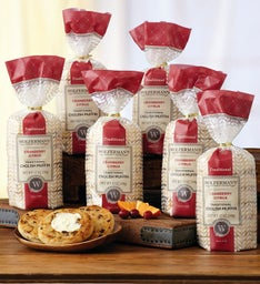 Cranberry Citrus Traditional English Muffins - Six Packages