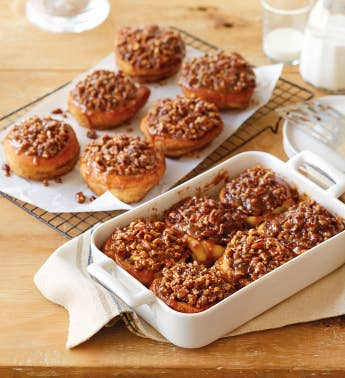 Nutty Sticky Buns - 2 Trays