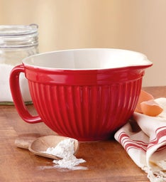Red Batter Bowl