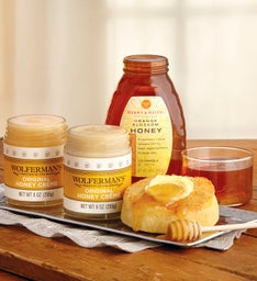 Create-Your-Own Honey & Honey Crème Three-Jar Sampler