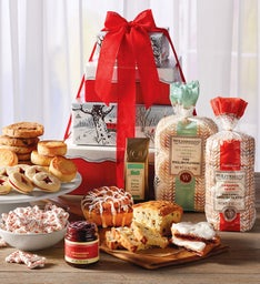 Deluxe Christmas Cheer Gift Tower