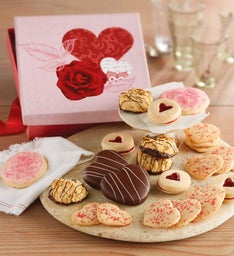 Valentine's Day Cookie Gift Box