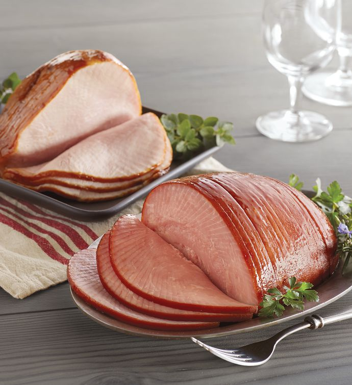 Sliced Ham and Turkey