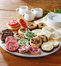 Cheryl's® Frosted Winter Cookies - 24 Count