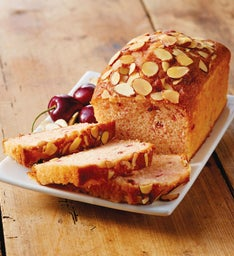 Cherry Almond Tea Bread