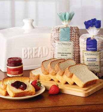 Ceramic Breadbox Gift