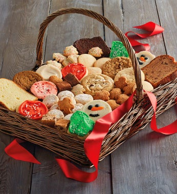 Cheryl's® Holiday Entertaining Cookie Basket