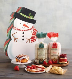 Snowman Bakery Box