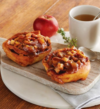 Caramel Apple Sticky Buns - Two each