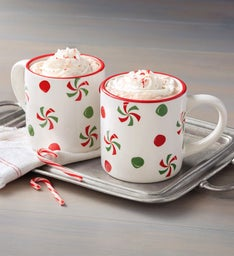 Candy Swirls Mug Duo