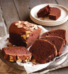 Chocolate Almond Tea Bread