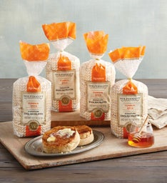 Pumpkin Spice Signature English Muffins - Six Packages