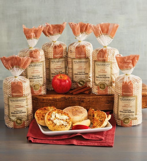 Apple Cinnamon Signature English Muffins - 6 Packages