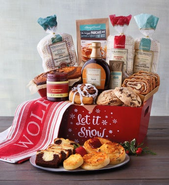 "Deluxe ""Let it Snow"" Gift Crate"