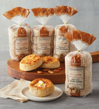 Maple Almond English Muffins